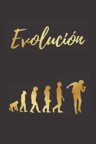 EVOLUCIÓN: CUADERNO LINEADO | DIARIO, CUADERNO DE NOTAS, AP