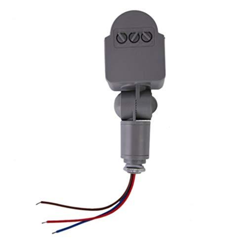 DC/AC8V-12V Sensor infrarrojo de movimiento del cuerpo PIR ajustable Detector de bombilla para luz LED de calidad de seguridad interior y exterior PIR Sensor interruptor de iluminación