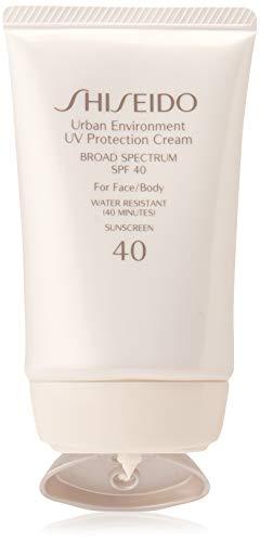 Shiseido Urban Environment UV Protection Cream Broad Spectrum SPF 40 for Face, 1.9 Ounce