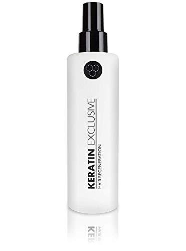 Keratin Exclusive Haarkur - brasilianisches Keratin und Aloe Vera - Keratin Spray für intensive Haarregeneration, Haarspitzen und Haarwurzeln (1 Stück - 200ml)