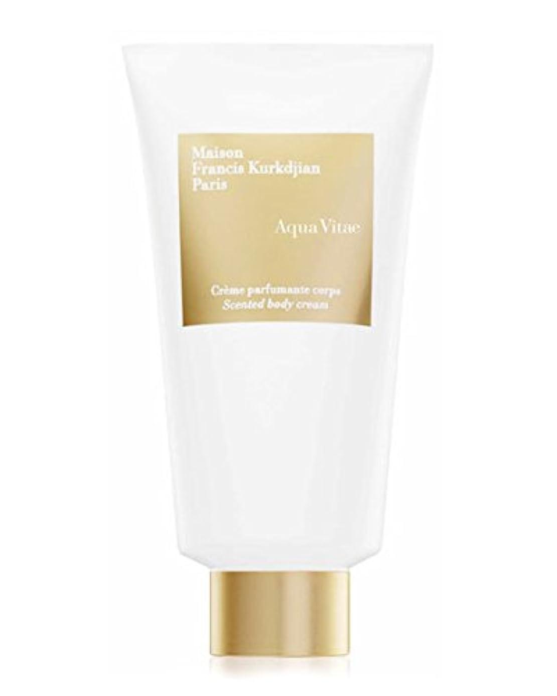 苦しむ電気陽性バレーボールMaison Francis Kurkdjian Aqua Vitae (メゾン フランシス クルジャン アクア ビタエ) 5.0 oz (150ml) Scented body cream