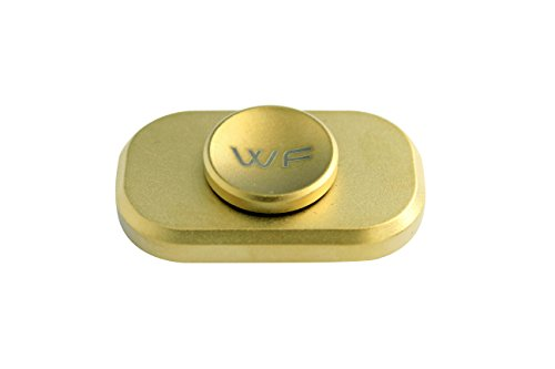WeFidget Original The Bar Premium Hand Spinner, Designed for Stress and Anxiety Relief. (Gold)
