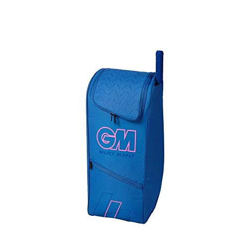 Gunn & Moore G&M Cricket Bag Select Duffle (4178) Tasche, Schwarz/Blau/Weiß, Einheitsgröße