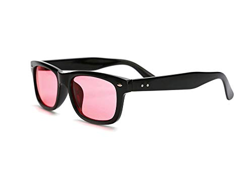 SomniLight FL-41 Light Sensitivity Glasses for Florescent Light Sensitivity, Photophobia, and Migraines (Wayfarer Style)