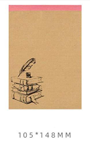 DIY plakboek ui papier Vintage zout Pocket boek Collage 35 stuks Bulk zonder lijm Creative Happy Plan decoratie Backgr, 100st