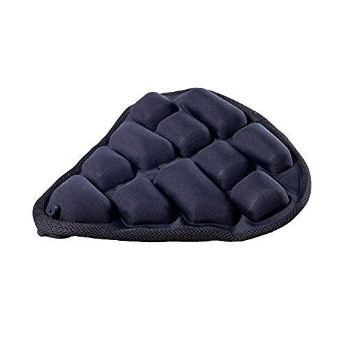 Cojín de asiento de bicicleta 3D para asiento de bicicleta inflable, suave y cómodo, almohadilla de asiento de bicicleta de repuesto