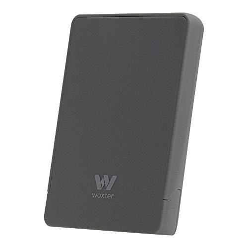 Woxter i-Case 230 Carcasa para disco duro, HD, 2.5 pulgadas, conexión USB 3.0 con cable incluido, sin tornillos, Color Plata