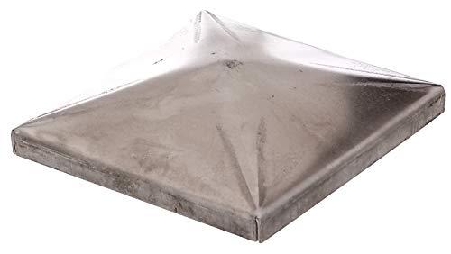 GAH-ALBERTS 418038 Capuchón postes metálicos hexagonale, Acero, 100 x 100 mm / 10 Stk