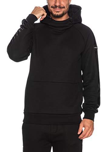 Colmar Sweatshirt-8231, Maglia di Tuta Uomo, Nero, L