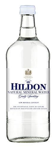 Hildon - Gently Sparkling Natural Mineral Water, 25.3 fl oz (12 Glass Bottles)