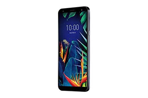 LG K40 Smartphone (14, 48 cm (5, 7 Zoll) LC-Display, 32 GB interner Speicher, 2GB RAM, MIL-STD-810G, Android 8.0) Aurora Black