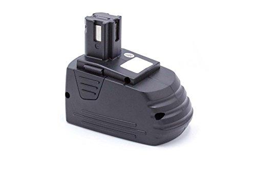 vhbw NiMH Batteria 3000mAh per utensile elettrico Hilti SB12, SF120-A, SF121-A, SID 121-A, SFL 12/15 Flashlight sostituisce SFB121, SFB126, SFB126A