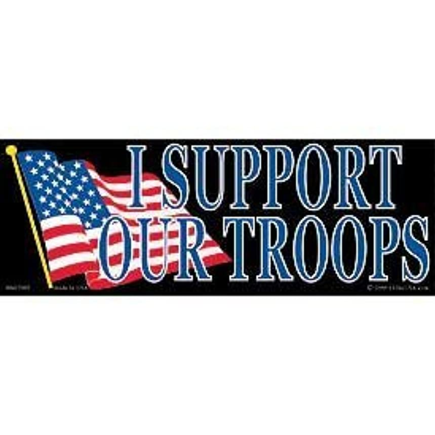 EagleEmblems BM7005 Sticker-Support Our Troop (3.5x10'')