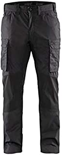 Planam Pantalon de Travail 6110 Junior Anthracite//Jaune