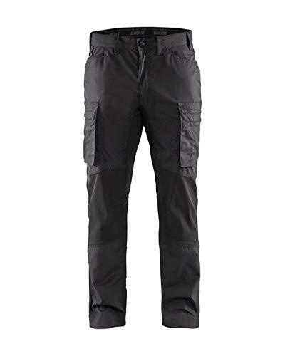 Service werkbroek Stretch recht C44 Dark Gray/Black