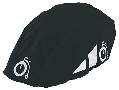 Prophete Reflexüberzug für Fahrradhelme Helmüberzug, schwarz, M