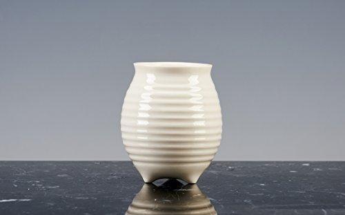 Gobelet de la joie de liqueur Porcelaine émaillée blanche ; Lot de 6 BICCHIERINI. fait à la main produits en design.