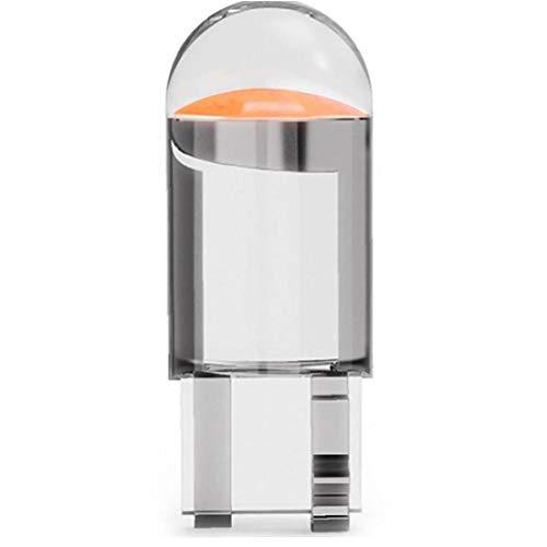 Lankater 10pcs W5w 194 T10 Glasgehäuse-cob Led Auto Birne 3000k 6000k Wedge Kennzeichenleuchte Dome Light White