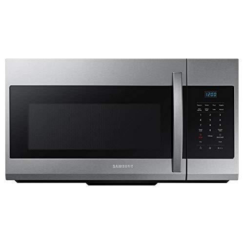 Samsung 1.7 Cu. Ft. Fingerprint Resistant Stainless Steel Over-The-Range Microwave