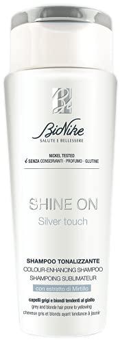 Bionike Shine On Silver Touch Shampoo - 200 ml.