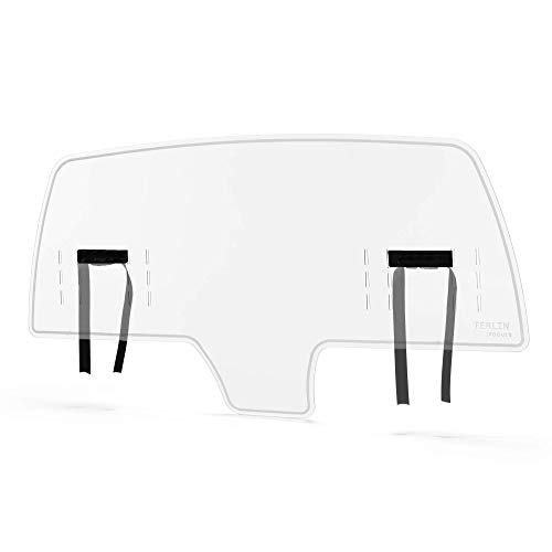 ellaTree Rideshare Shield - Protective Cough and Sneeze Guard for Cars | Partition Barrier between Driver and Passenger - Made with Extremely Durable Polycarbonate | Universal Car Fit