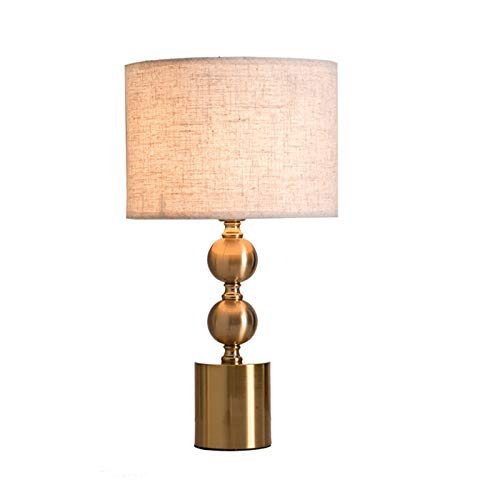E27 Lámpara de Escritorio, Simplicidad Moderna Lámpara Mesa con 180cm Cable, Creativo de Lujo Luz de Noche Adecuado Para Dormitorio, Estudiar, Salón, Mesita Noche, Sala, Cuarto, Comedor, Estar, Barra