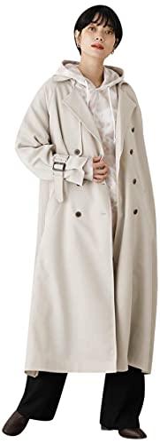 [アズールバイマウジー] ジャケット コート SINGLE FLAP TRENCH COAT 250ESS30-057C M ベージュ レディーズ