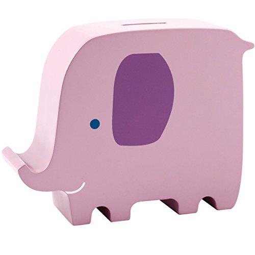Pearhead 40003 - fun friends Holz Spardose, elly elephant