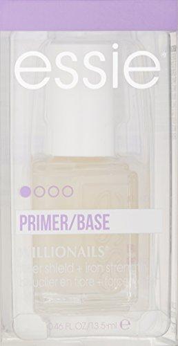 essie Base Coat Nail Polish, Millionails Nail Treatment, Fiber Shield + Iron Strength, 0.46 Fl. Oz.