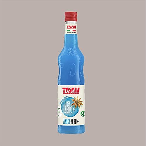 Lucgel Srl 740 gr Sciroppo ANICE ZERO+ Calorie Senza Zucchero TOSCHI per Gelato Granita Cocktail