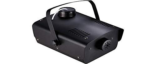 400W Fog Machine with Alarm and Wired Remote, Party, Special Effects, Black, by Seasonal Visions