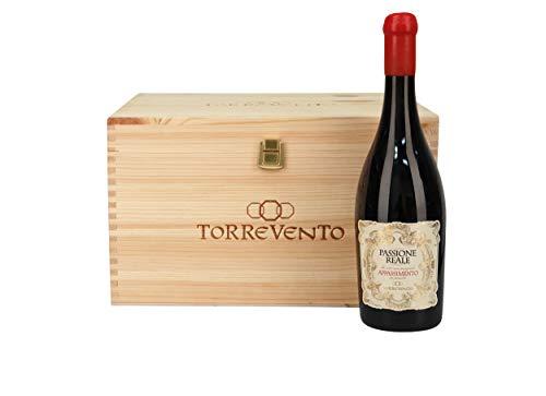 Torrevento Passione Reale Appassimento Puglia Rosso in orig. Holzkiste 2016 (6 x 0,75 l)