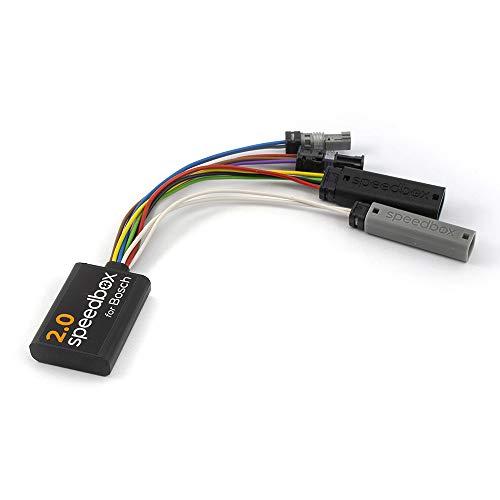 SpeedBox 2.0 E-Bike Pedelec Tuning Modul für alle Bosch Motoren von 2014-2019 Active Performance CX Tuning Chip Unbegrenzte Motorunterstützung bis 99 km/h !
