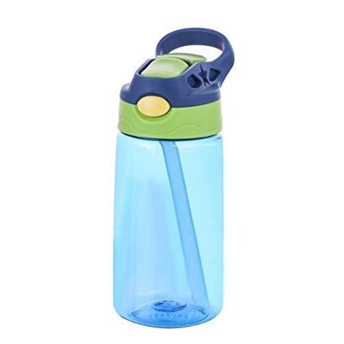 pzkwmfv ABS Plastic Easy to Carry Reusable Outdoor Travel Sport Straw Water Bottles for Gym Yoga Fitness Camping Gift