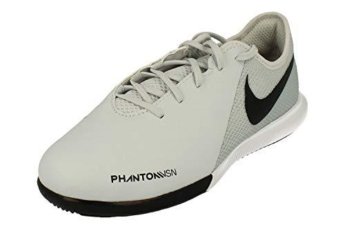 Nike Jr. Hypervenom Phantom Vision Academy IC, Scape per Sport Indoor Unisex-Bambini, Argento (Pure Platinum/Black-Lt Crimson 060), 35 EU