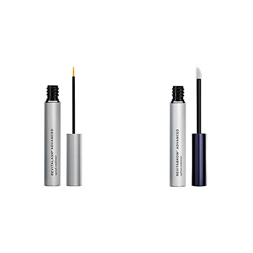 Revitalash Adv Eyelash Cond 3.5ml & RevitaBrow Eye Brow Conditioner, 3 ml
