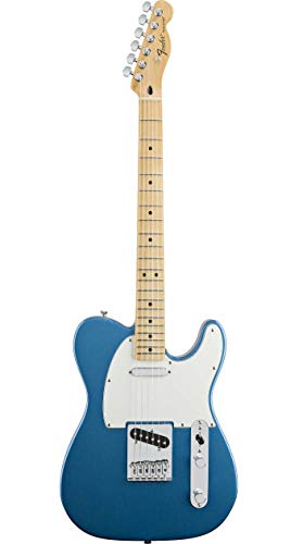 Fender Limited Edition Player Telecaster Electric Guitar, Maple Fingerboard, Lake Placid Blue