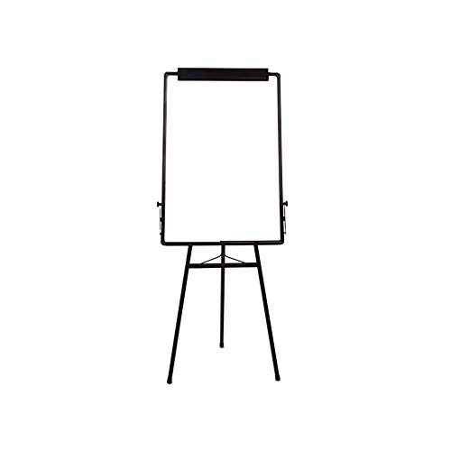 WanuigH Mobile Whiteboard Opvouwbaar statief Wit Board Verstelbare Flip Demo Board+2 Uitwisbare Pens 1 Blackboard Gum 8 Magnetische Knoppen Demo Board