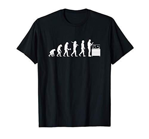 Aquarianer Evolution Aquarium Zierfische Aquaristik T-Shirt