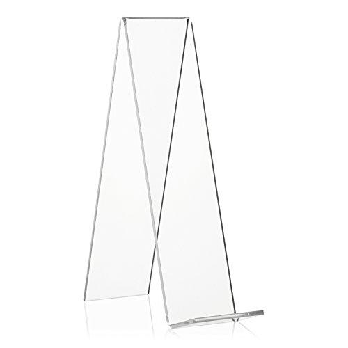 VITAdisplays® Buchstützen NE-311, Transparent, 20 cm