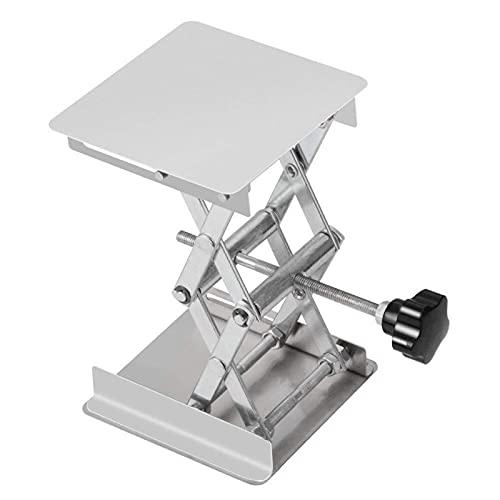 YCKL Router Hubtisch, Laborhubtisch, Holzbearbeitungstisch, Edelstahlmaterial, klein und leicht, leicht zu tragen, Starke Tragfähigkeit, geeignet für das Labor. (Color : A)