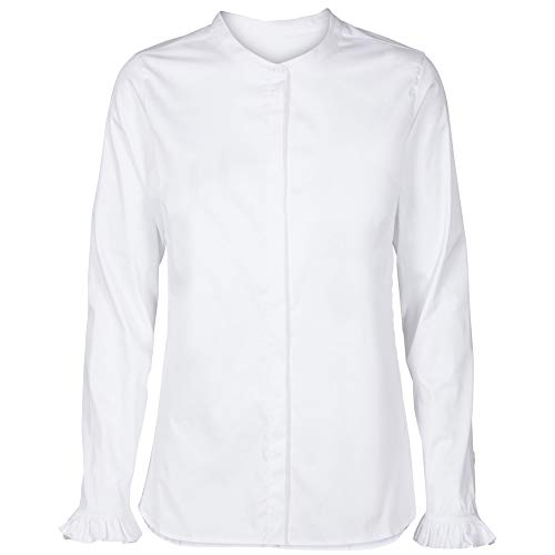 MosMosh Damen Bluse Mattie Weiss - XL