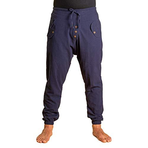 PANASIAM Yogipants, Cotton, darkblue, XL