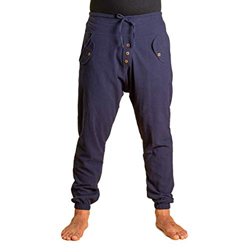 PANASIAM Yogipants, cotton, darkblue, L