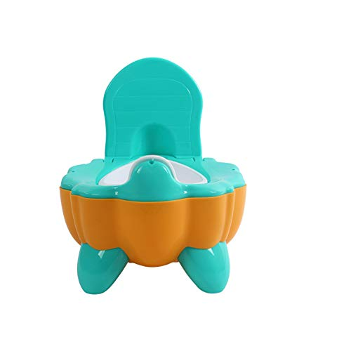 yitao Asiento De Inodoro Orina Cabina de Entrenamiento de Dibujos Animados Asiento de Inodoro para niños Cama portátil urinario cómodo Baby Baby Orinal de la Calabaza Inodoro (Color : Yellow)