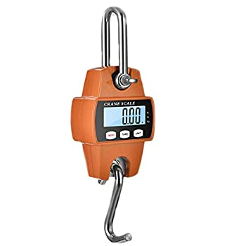 Hanging Weight Scale Industrial Heavy Duty for Farm Hunting Bow Draw Weight Big Fish & Hoyer Lift with Accurate Sensor Digital Professional  660 LBS