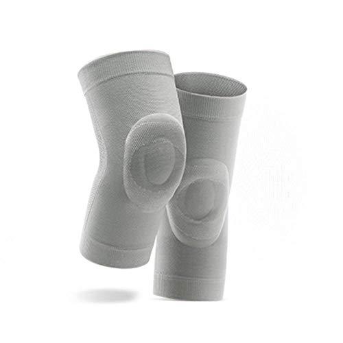 Sywlwxkq Rodillera, Mantener Caliente Viejo Fría Articulación De La Pierna Respirable Ultrafino del Gel De Silicona Antideslizantes Aire Acondicionado Habitaciones Polainas