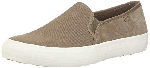 Keds Double Decker Suede Taupe Suede 9.5 B (M)