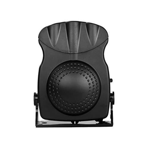 Winomo - Ventilador de escritorio pequeño de 12 V, portátil, ajustable, mini aire acondicionado para coche