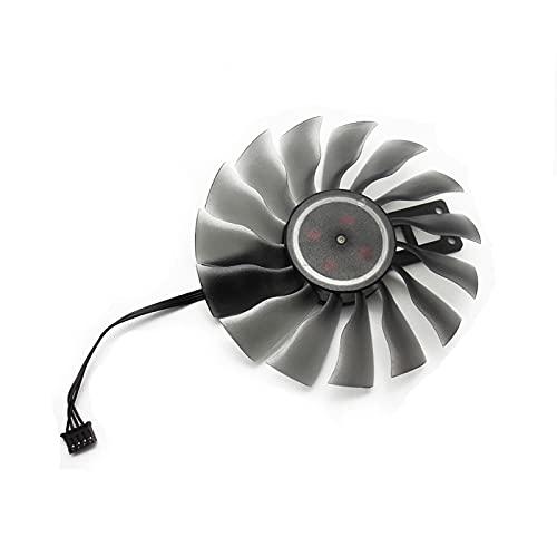 95mm GAA8S2U FD10015H12S Fan GTX1080 GTX1070 Carne DE CARDADOR DE GPU para PALIT GTX 1080 TI 1070 Tarjetas de Gamerock como reemplazo (Blade Color : B 1PCS)